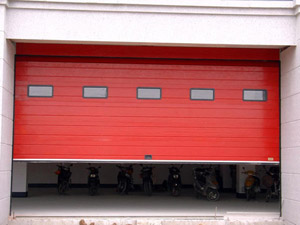 XL080防火卷帘门安装
